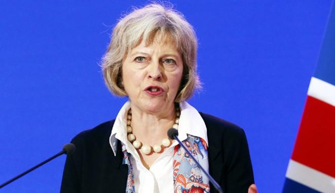 """Foto: Theresa May denunță acțiunile ostile ale Rusiei. """"Nu ne dorim un nou Război Rece!"""""""