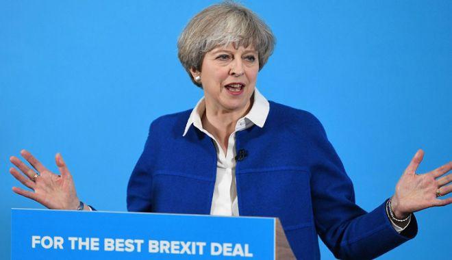 """Foto: Theresa May: """"Decizia Marii Britanii de a părăsi UE este ireversibilă"""""""