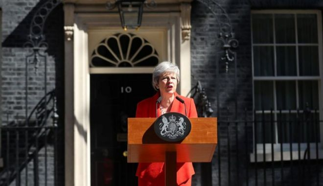 Foto: Theresa May a anunţat că va demisiona pe 7 iunie