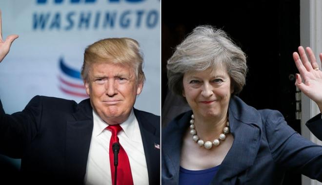 """Foto: Theresa May: Ordinul lui Trump privind imigrația este """"nedrept"""""""