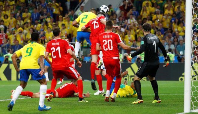 Foto: CM 2018. BRAZILIA, calificată în optimi după 2-0 cu Serbia
