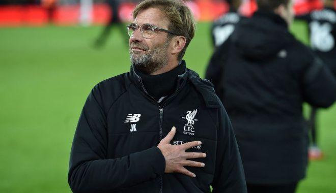 """Foto: """"Este o performanţă incredibilă"""", declară antrenorul lui Liverpool, după calificarea în finală"""