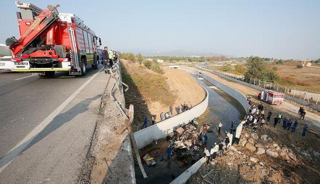 Foto: Accident cumplit, soldat cu 22 morți în Turcia