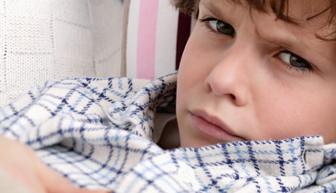 Foto: Ticurile la copii sunt o tulburare comportamentală