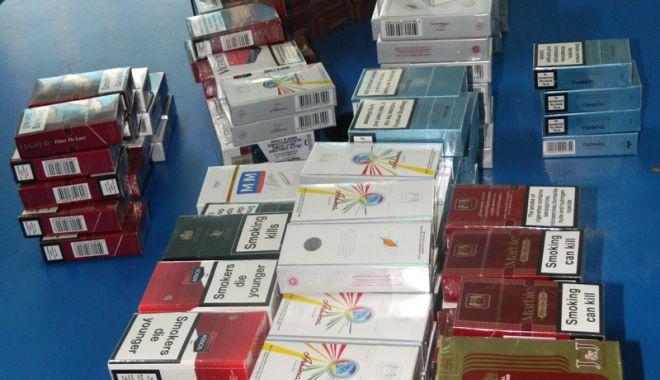 Foto: Contrabandă cu ţigări netimbrate, la Constanţa