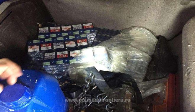 Foto: Peste 5.300 pachete cu țigări confiscate la frontieră