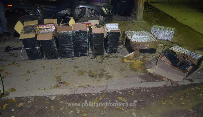 Foto: Nicio zi fără contrabandă! Captură de ţigări şi o persoană reţinută, la vamă