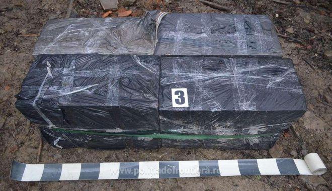 Foto: Vameşii au confiscat mii de ţigări de contrabandă, ce urmau să ajungă pe piaţa neagră
