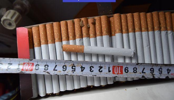 Foto: Poliţia Constanţa: Dosar penal pentru trafic cu țigări