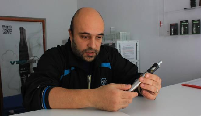 Foto: Guvernul introduce acciza pe ţigările electronice