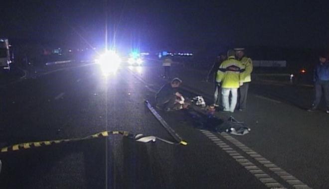 Foto: ACCIDENT RUTIER MORTAL. Un biciclist şi-a pierdut viaţa