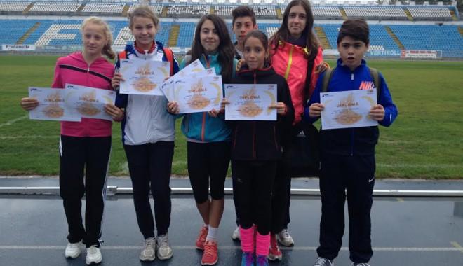 Foto: Tinerii atleţi ai Constanţei au debutat la Cupa Toamnei