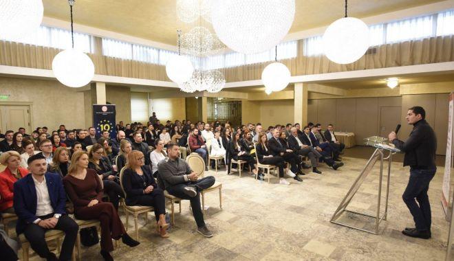 """Foto: Tinerii din PSD Constanța, gata de start la """"10 pentru Bruxelles"""""""