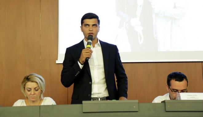 """Foto: Nicu Roșu, liderul TSD Constanța: """"Tinerii reprezintă viitorul. Trebuie să investim în ei"""""""
