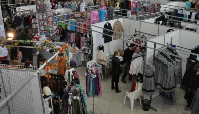 Foto: Tinimtex-ul are salon dedicat exclusiv producătorilor!