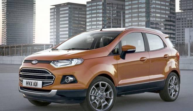 Foto: Ţiriac Auto îi invită pe constănţeni să testeze noul Ford Ecosport