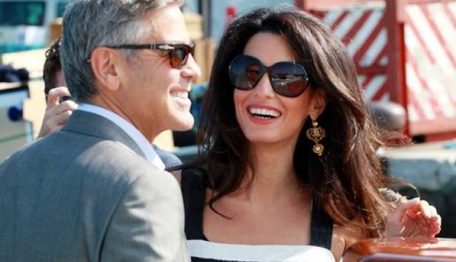 Foto: Nu mai este burlac. George Clooney S-A ÎNSURAT