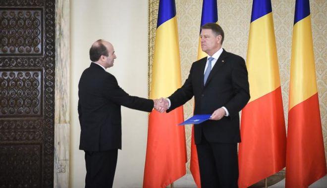 Foto: Preşedintele Iohannis îi cere demisia lui Tudorel Toader: Și-a compromis definitiv credibilitatea