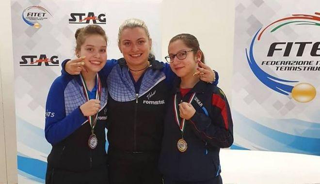Foto: Tolba plină de medalii! Aur, argint şi bronz pentru tenisul de masă constănţean