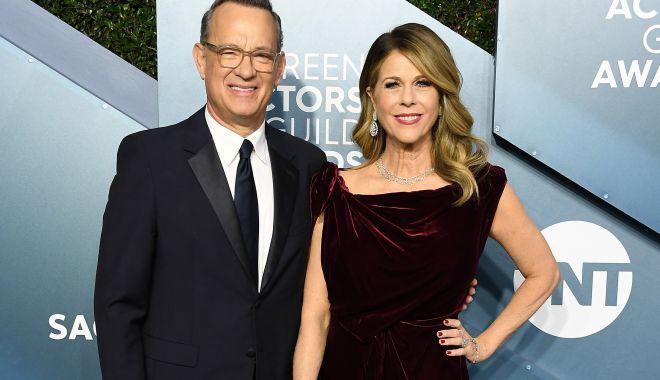 Foto: Tom Hanks și soția lui au devenit oficial cetățeni ai Greciei
