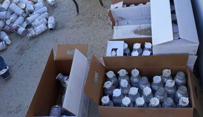 Foto: Tone de azotat de amoniac, depozitate necorespunzător. Ce măsuri s-au luat