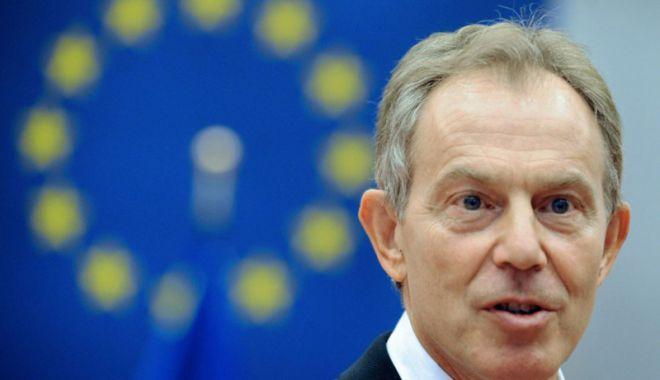 Foto: Tony Blair îndeamnă UE să-şi reformeze politica de imigraţie pentru a evita Brexitul