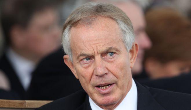 Foto: Tony Blair se teme de impactul Brexitului asupra acordului de pace