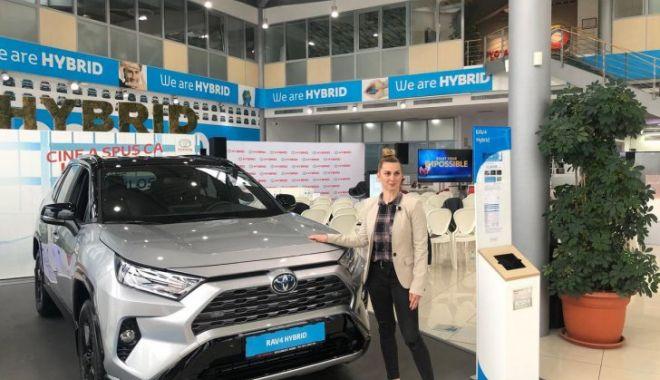 Foto: Toyota Rav4 hybrid, maşina pe care o vor lua medaliaţii români cu aur la JO Tokyo 2020