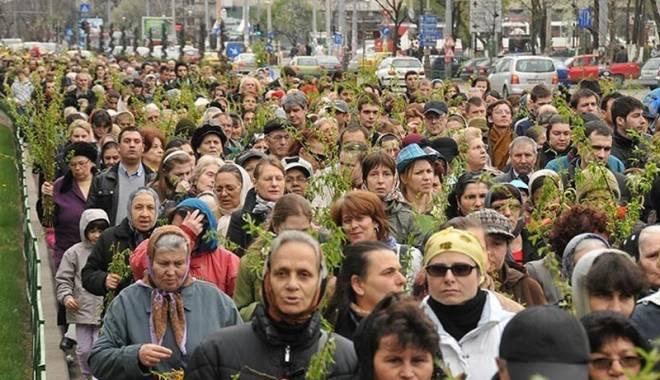 Foto: Tradiţii de Florii, în Dobrogea