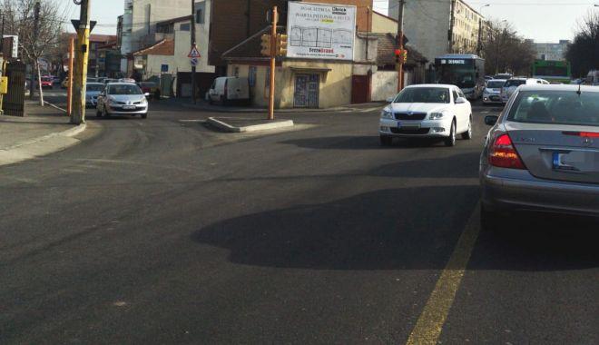 Foto: Surprize pentru șoferi! Reguli noi de trafic, pe strada I.L. Caragiale
