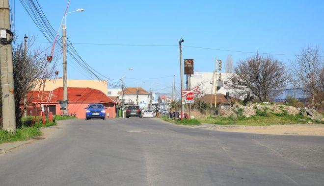 Foto: Trafic restricționat pe strada Nicolae Filimon din Constanța