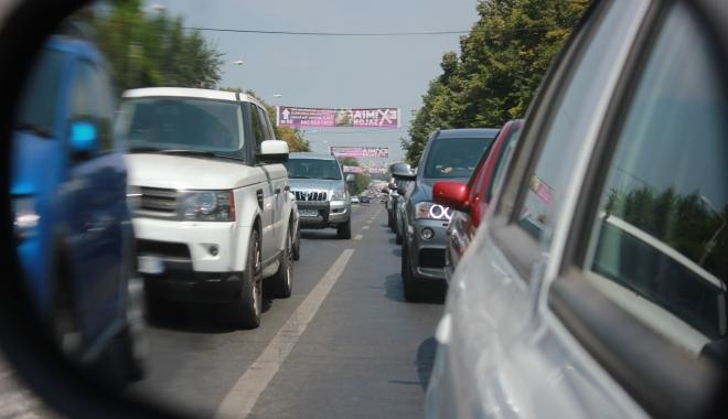 Foto: ATENȚIE, CONSTĂNȚENI! Trafic îngreunat pe bulevardul Tomis