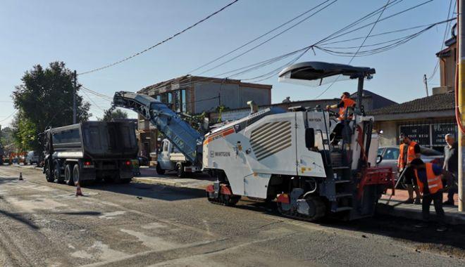 Foto: Trafic restricţionat, astăzi, pe mai multe artere din Constanţa