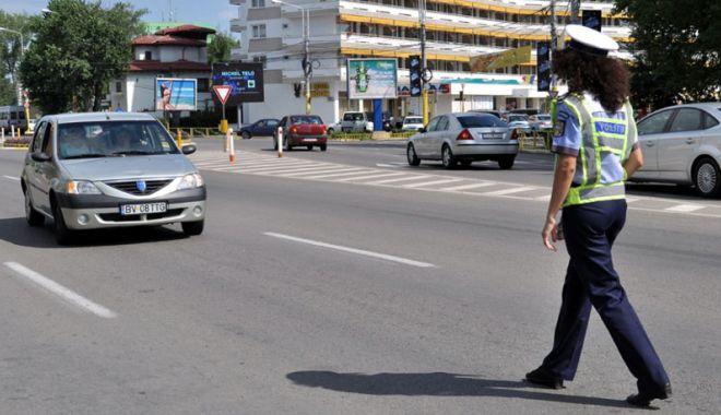 Foto: Trafic restricţionat la Constanţa. Se lucrează la reţeaua de apă