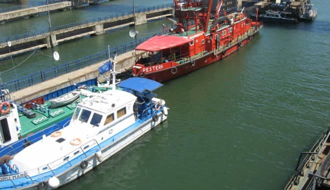 Foto: Traficul de mărfuri pe canalele navigabile a învins seceta
