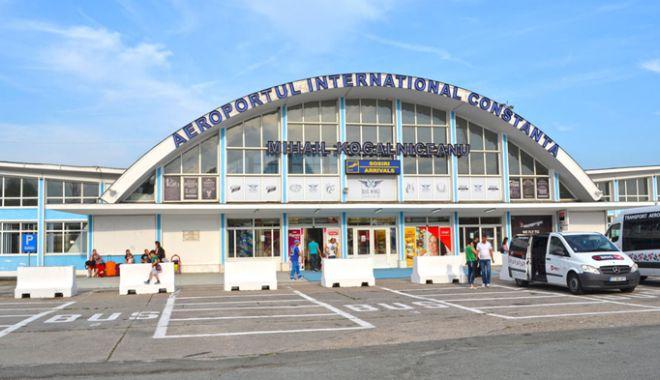 Foto: Traficul de pasageri  pe Aeroportul Mihail Kogălniceanu  a crescut cu aproape 8%