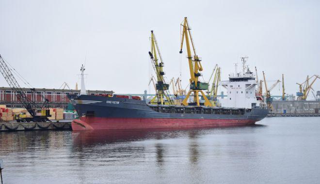 Foto: Traficul de mărfuri din porturile maritime românești a făcut un salt de peste 11%