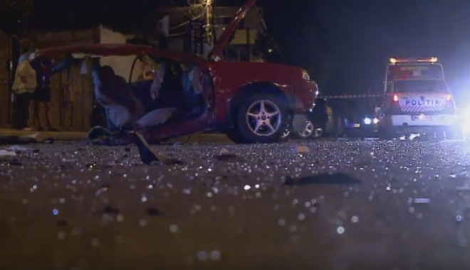 Foto: ACCIDENT MORTAL �N CONSTAN�A / �OFERUL F�R� PERMIS A FUGIT DE LA LOCUL FAPTEI: