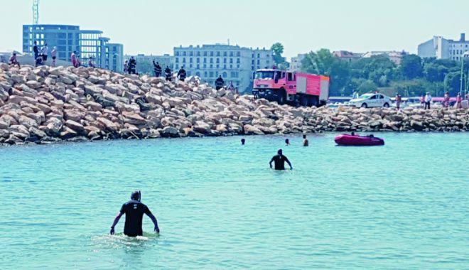 Foto: Tragedie pe Plaja Modern. Un copil s-a înecat