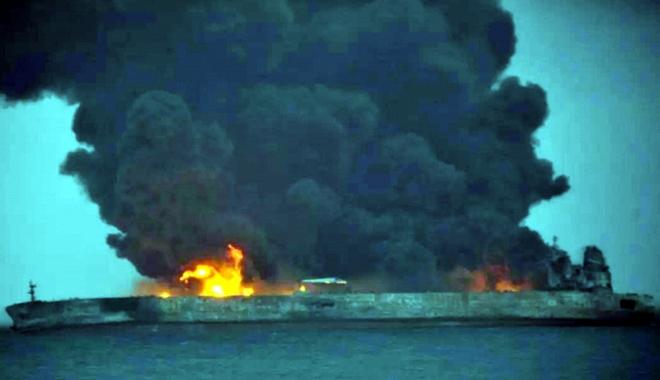 Foto: Tragedii navale în lanț la începutul lui 2018