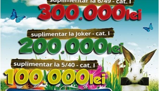 Foto: Loteria Română. Trageri speciale loto de Paşti