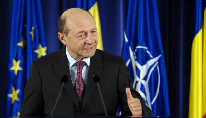 Foto: Traian Băsescu despre acciza pe motorină: Afirmația lui Ponta nu mă satisface, dar arată că poate exista un dialog
