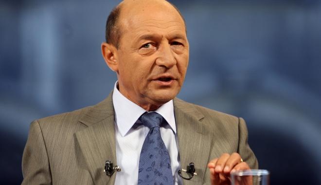 Foto: Traian Băsescu: Dacă l-a condamnat justiția, eu nu îl pot considera nevinovat