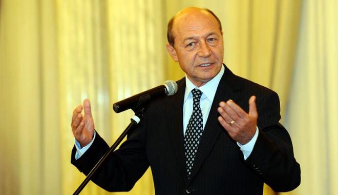 """Foto: Traian Băsescu: """"Actuala guvernare joacă la ruletă România"""""""