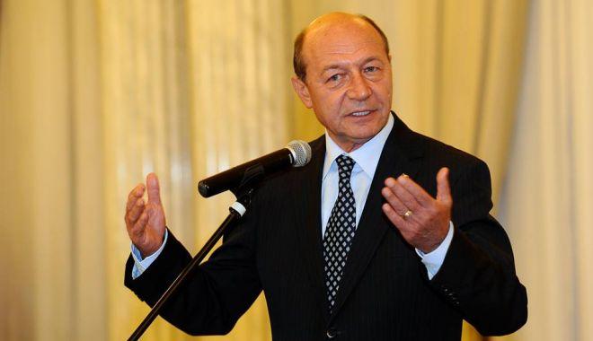 Foto: Traian Băsescu, cap de listă la PMP pentru alegerile europarlamentare