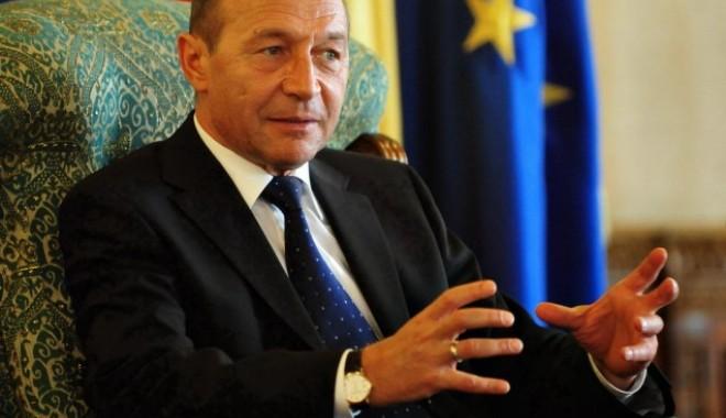 Foto: Ce spune Băsescu despre uraniul ars în reactoarele de la Cernavodă