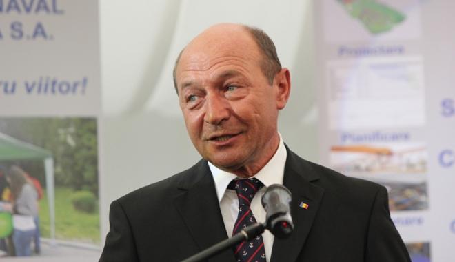 Foto: Preşedintele Traian Băsescu  vine la Cernavodă şi la Hârşova