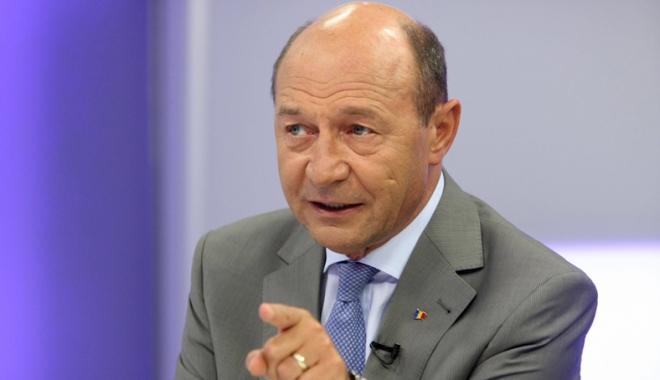 """Foto: Traian Băsescu: """"Premierul Tudose trebuie să-i spună lui Dragnea stop joc"""""""