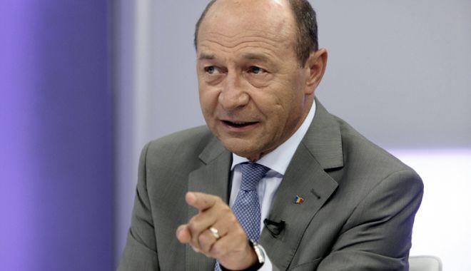 Foto: Traian Băsescu, despre mitingul PSD ce urmează să fie organizat luna viitoare