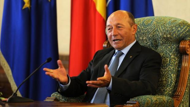Foto: Traian Băsescu primeşte, la Palatul Cotroceni, o delegaţie a Exxon Mobil şi OMV-Petrom